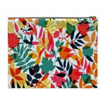 Seamless Autumn Leaves Pattern  Cosmetic Bag (XL) Back