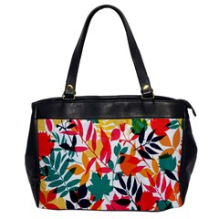 Seamless Autumn Leaves Pattern  Office Handbags