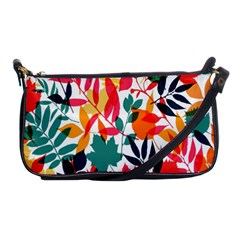 Seamless Autumn Leaves Pattern  Shoulder Clutch Bags
