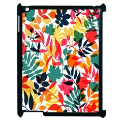 Seamless Autumn Leaves Pattern  Apple Ipad 2 Case (black)