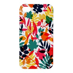 Seamless Autumn Leaves Pattern  Apple Iphone 4/4s Hardshell Case
