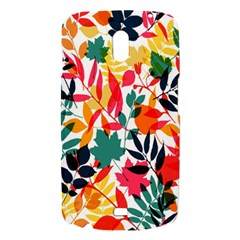 Seamless Autumn Leaves Pattern  Samsung Galaxy Nexus i9250 Hardshell Case