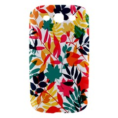 Seamless Autumn Leaves Pattern  Samsung Galaxy S III Hardshell Case