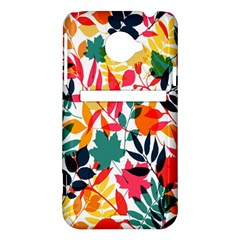 Seamless Autumn Leaves Pattern  HTC Evo 4G LTE Hardshell Case