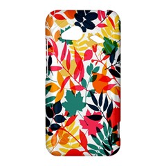 Seamless Autumn Leaves Pattern  HTC Droid Incredible 4G LTE Hardshell Case