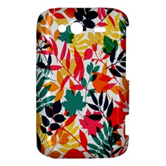 Seamless Autumn Leaves Pattern  HTC Wildfire S A510e Hardshell Case