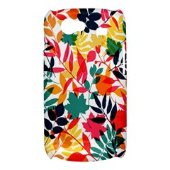 Seamless Autumn Leaves Pattern  Samsung Galaxy Nexus S i9020 Hardshell Case