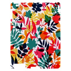 Seamless Autumn Leaves Pattern  Apple iPad 2 Hardshell Case