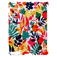 Seamless Autumn Leaves Pattern  Apple iPad 2 Hardshell Case (Compatible with Smart Cover)