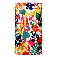 Seamless Autumn Leaves Pattern  Sony Xperia ion