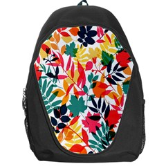 Seamless Autumn Leaves Pattern  Backpack Bag