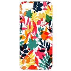 Seamless Autumn Leaves Pattern  Apple iPhone 5 Classic Hardshell Case