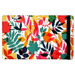 Seamless Autumn Leaves Pattern  Apple iPad 2 Flip Case