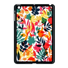Seamless Autumn Leaves Pattern  Apple iPad Mini Case (Black)
