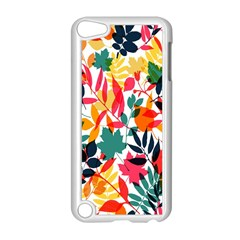 Seamless Autumn Leaves Pattern  Apple Ipod Touch 5 Case (white)