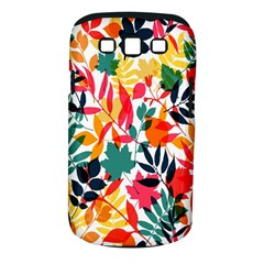 Seamless Autumn Leaves Pattern  Samsung Galaxy S III Classic Hardshell Case (PC+Silicone)