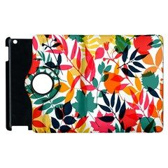 Seamless Autumn Leaves Pattern  Apple iPad 2 Flip 360 Case