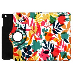 Seamless Autumn Leaves Pattern  Apple iPad Mini Flip 360 Case
