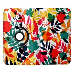 Seamless Autumn Leaves Pattern  Samsung Galaxy Note II Flip 360 Case