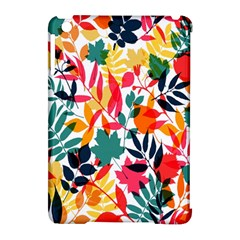 Seamless Autumn Leaves Pattern  Apple iPad Mini Hardshell Case (Compatible with Smart Cover)