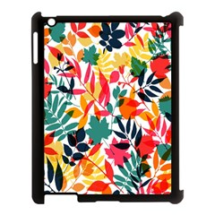 Seamless Autumn Leaves Pattern  Apple Ipad 3/4 Case (black)