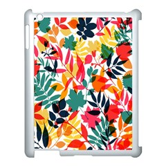 Seamless Autumn Leaves Pattern  Apple Ipad 3/4 Case (white)