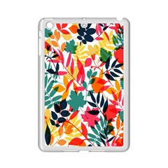 Seamless Autumn Leaves Pattern  iPad Mini 2 Enamel Coated Cases