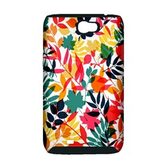 Seamless Autumn Leaves Pattern  Samsung Galaxy Note 2 Hardshell Case (PC+Silicone)