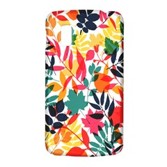Seamless Autumn Leaves Pattern  LG Nexus 4