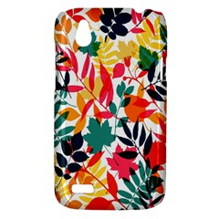 Seamless Autumn Leaves Pattern  HTC Desire V (T328W) Hardshell Case