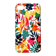 Seamless Autumn Leaves Pattern  Apple iPhone 4/4S Hardshell Case with Stand