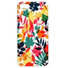 Seamless Autumn Leaves Pattern  Apple Iphone 5 Hardshell Case With Stand