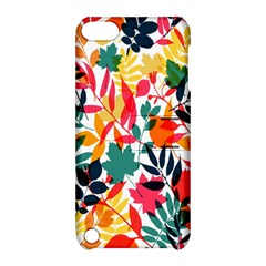 Seamless Autumn Leaves Pattern  Apple iPod Touch 5 Hardshell Case with Stand