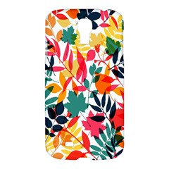 Seamless Autumn Leaves Pattern  Samsung Galaxy S4 I9500/i9505 Hardshell Case