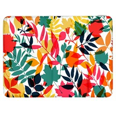 Seamless Autumn Leaves Pattern  Samsung Galaxy Tab 7  P1000 Flip Case