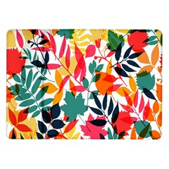 Seamless Autumn Leaves Pattern  Samsung Galaxy Tab 10 1  P7500 Flip Case