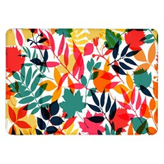 Seamless Autumn Leaves Pattern  Samsung Galaxy Tab 8 9  P7300 Flip Case