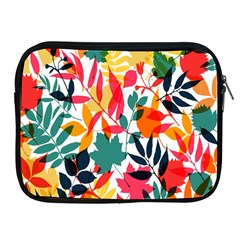 Seamless Autumn Leaves Pattern  Apple Ipad 2/3/4 Zipper Cases