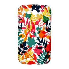 Seamless Autumn Leaves Pattern  Samsung Galaxy Grand GT-I9128 Hardshell Case