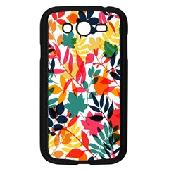 Seamless Autumn Leaves Pattern  Samsung Galaxy Grand Duos I9082 Case (black)