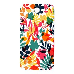 Seamless Autumn Leaves Pattern  Samsung Note 2 N7100 Hardshell Back Case
