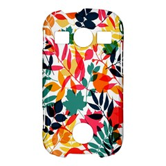 Seamless Autumn Leaves Pattern  Samsung Galaxy S7710 Xcover 2 Hardshell Case