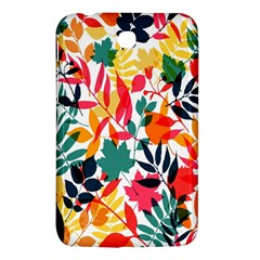 Seamless Autumn Leaves Pattern  Samsung Galaxy Tab 3 (7 ) P3200 Hardshell Case