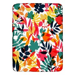 Seamless Autumn Leaves Pattern  Samsung Galaxy Tab 3 (10.1 ) P5200 Hardshell Case