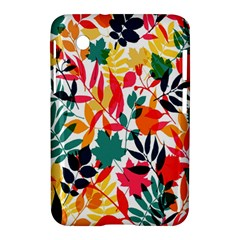 Seamless Autumn Leaves Pattern  Samsung Galaxy Tab 2 (7 ) P3100 Hardshell Case