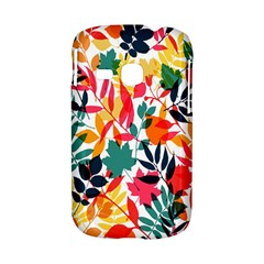 Seamless Autumn Leaves Pattern  Samsung Galaxy S6310 Hardshell Case