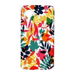 Seamless Autumn Leaves Pattern  LG Nexus 5