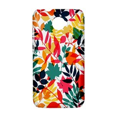 Seamless Autumn Leaves Pattern  HTC Desire 601 Hardshell Case