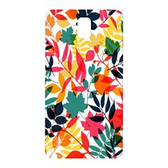 Seamless Autumn Leaves Pattern  Samsung Galaxy Note 3 N9005 Hardshell Back Case