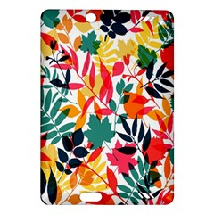 Seamless Autumn Leaves Pattern  Amazon Kindle Fire HD (2013) Hardshell Case